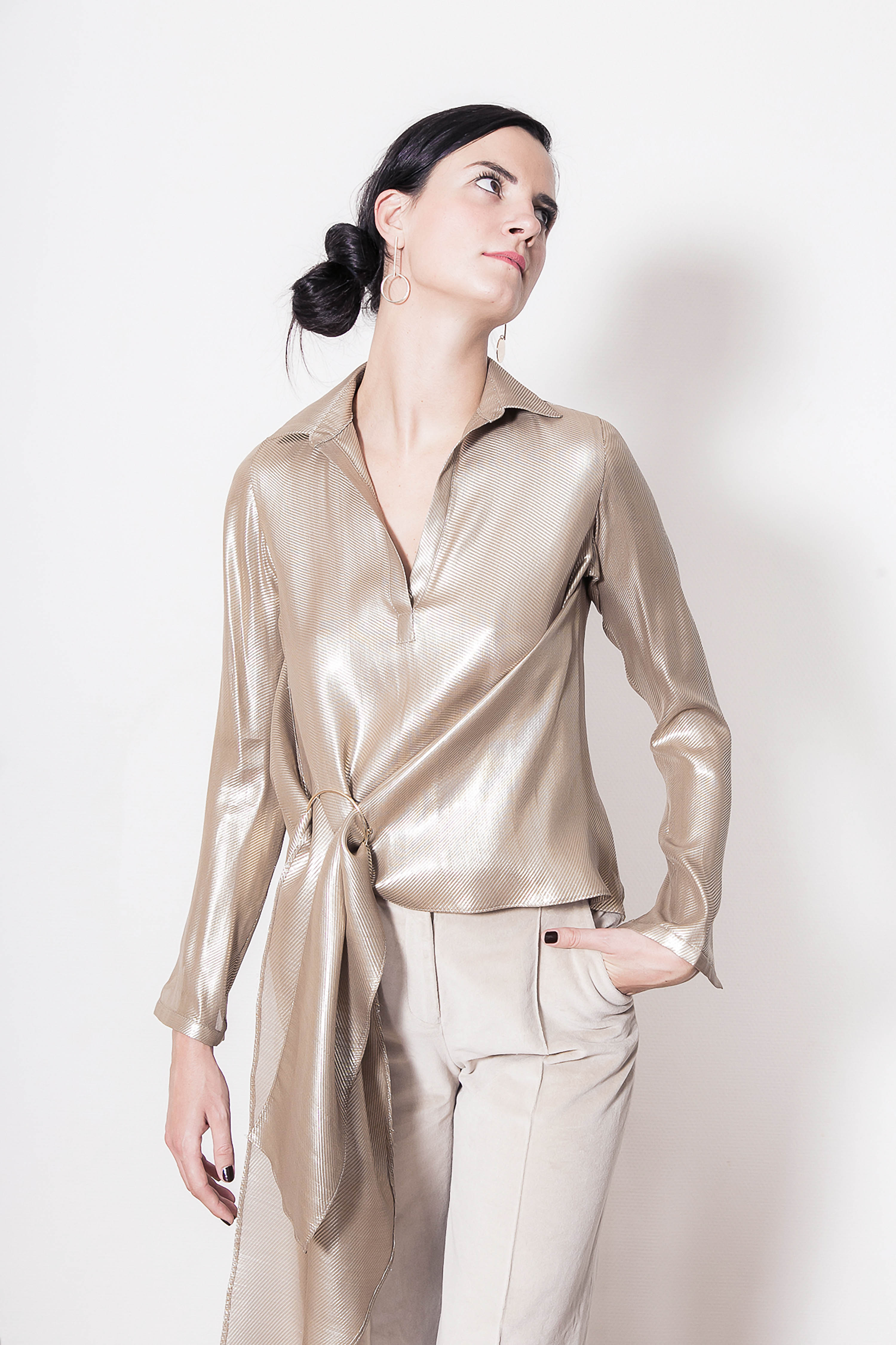 adel-astree-blouse-camille-bronze